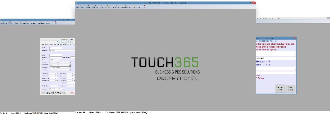 touch365 point of sale business solutions